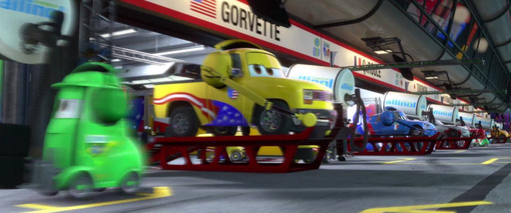 john lassetire  personnage character pixar disney cars 2