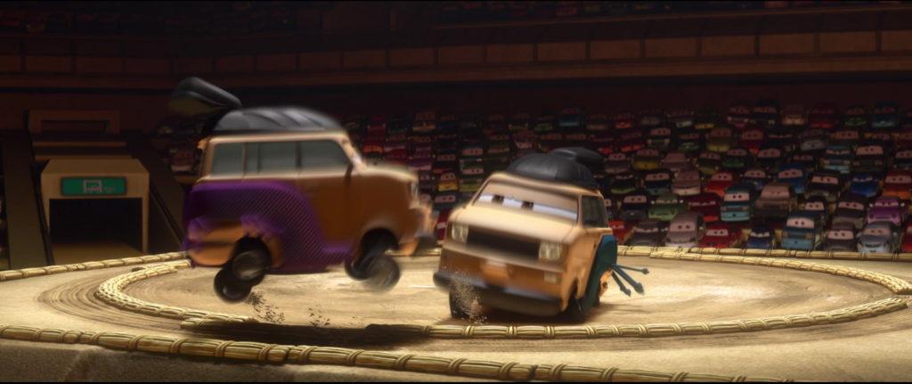 kingpin nobunaga personnage character pixar disney cars 2