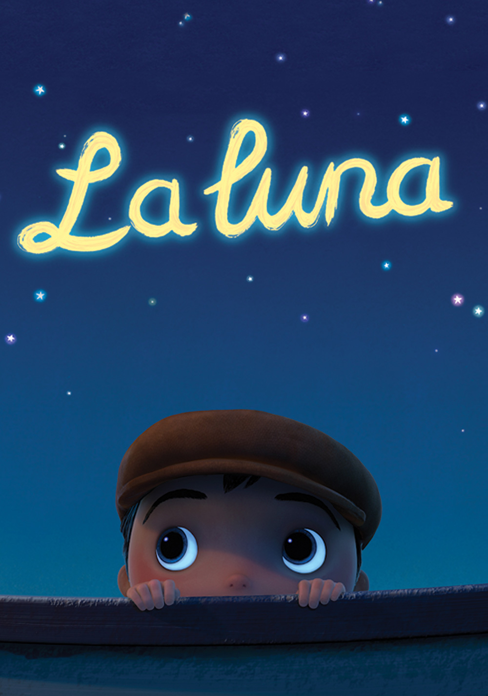 affiche poster luna disney pixar