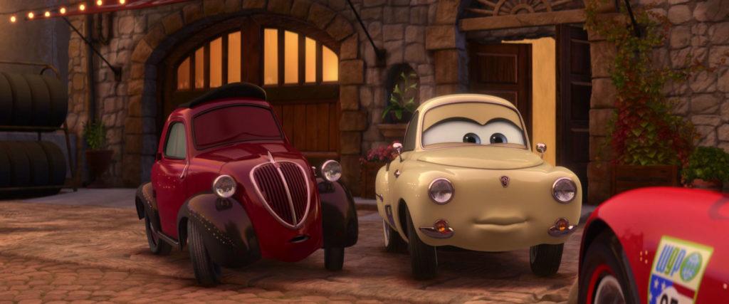 mama topolino  personnage character pixar disney cars 2