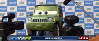 miles axlerod personnage character pixar disney cars 2