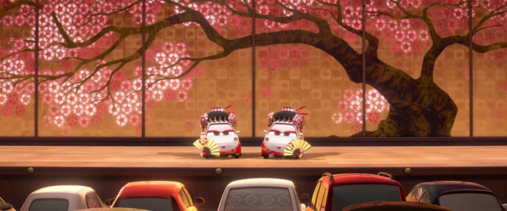 okuni personnage character pixar disney cars 2