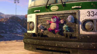 peluche eboueur Garbage Truck Toys pixar disney personnage character toy story 3