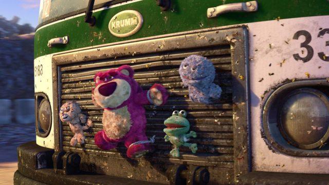 peluche plush éboueur truck toys garbagepersonnage character disney pixar