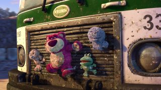 Garbage Truck Toys Characters From Toy Story 3 Pixar