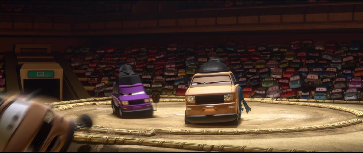 pinion tanaka personnage character cars disney pixar