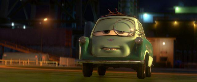 professeur zundapp personnage character cars disney pixar