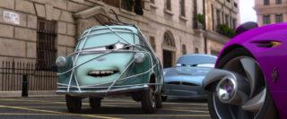 professeur zundapp professor z   personnage character pixar disney cars 2