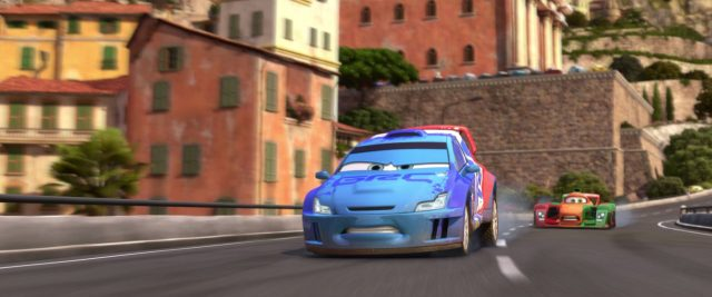 raoul caroule personnage character cars disney pixar