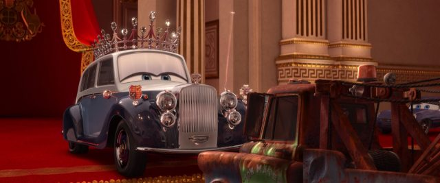 reine queen personnage character cars disney pixar