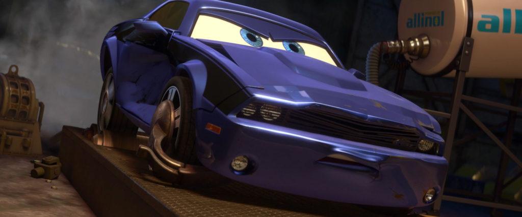 rod torque redline  personnage character pixar disney cars 2