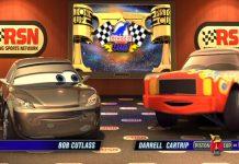 Pixar Disney Racing Sport Network RSN