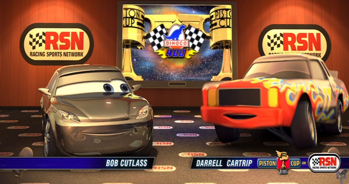 Pixar Disney Racing Sport Network RSN