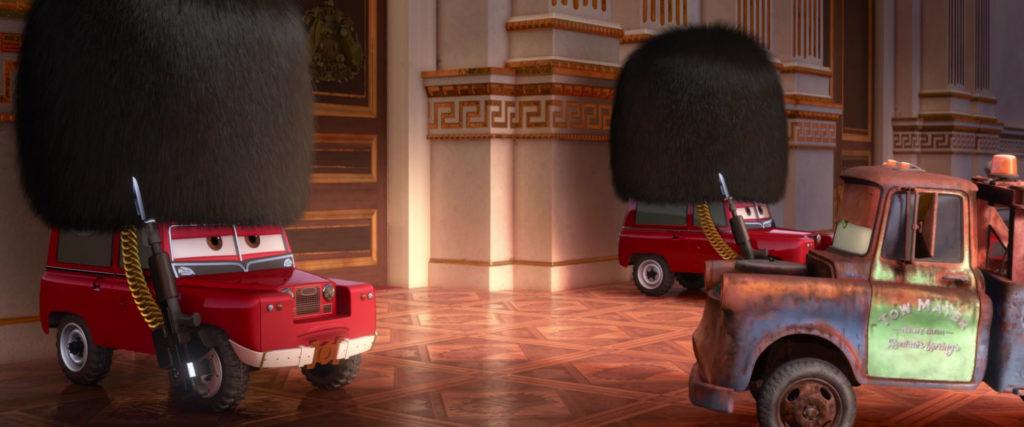 sergent highgear  personnage character pixar disney cars 2