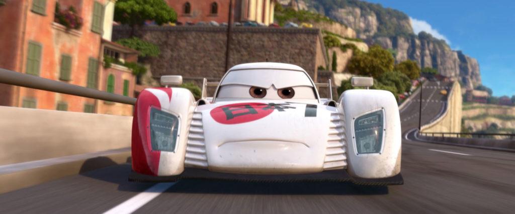 shu todoroki  personnage character pixar disney cars 2