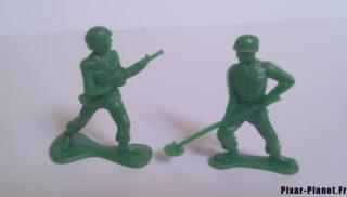 Soldats verts Green Army Men Jouet toy disney pixar story