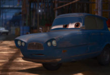 tomber personnage character pixar disney cars 2