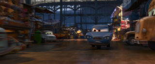 tomber personnage character pixar disney cars 2
