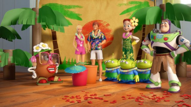 image toy story toons vacances hawai hawaiian vacation disney pixar