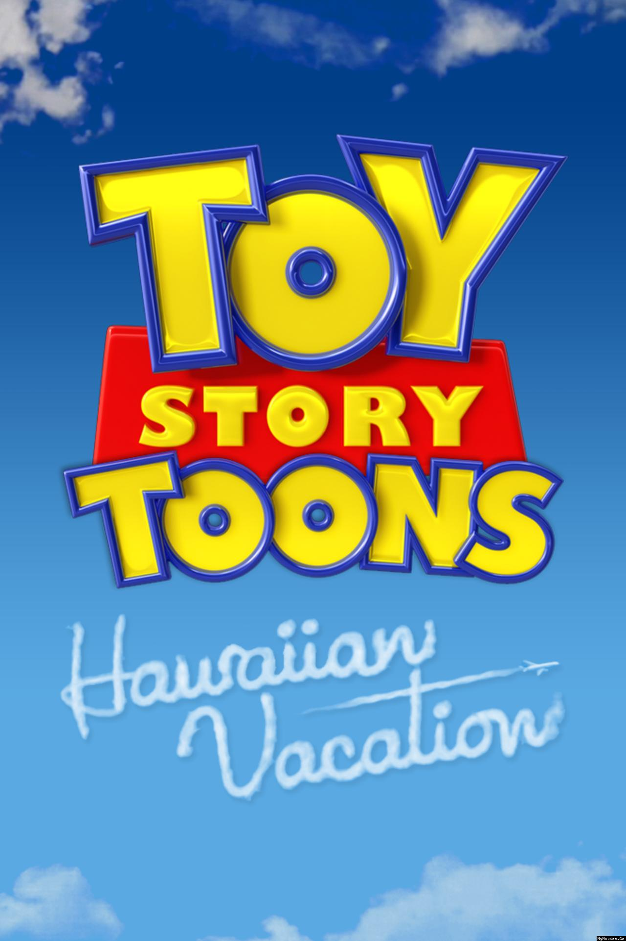 affiche poster toy story toons vacances hawai hawaiian vacation disney pixar