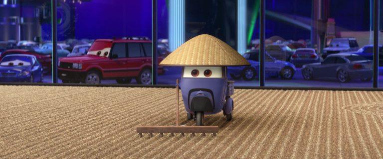 """Zen Master, personnage dans """"Cars 2""""."""