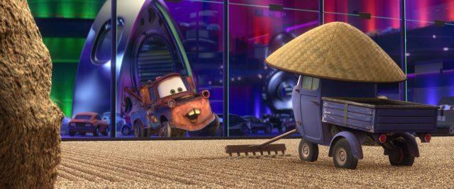 zen master personnage character cars disney pixar