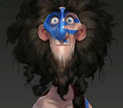 artwork rebelle brave disney pixar