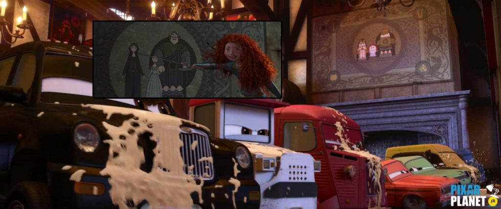 clin oeil easter egg cars 2 disney pixar