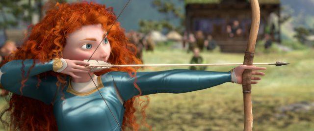 image rebelle brave disney pixar