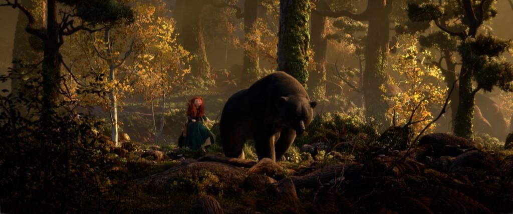 Pixar Disney Rebelle Brave