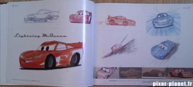 art of cars Livre Disney Pixar Book
