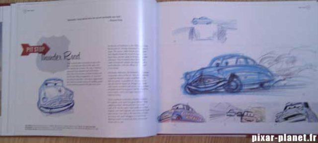 art of cars Livre Disney Pixar Book