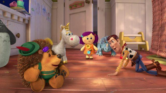 Pricklepants la brosse personnage character disney pixar