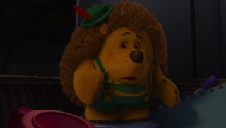 la brosse prickelpants   personnage character pixar disney toy story toons angoisse motel terror
