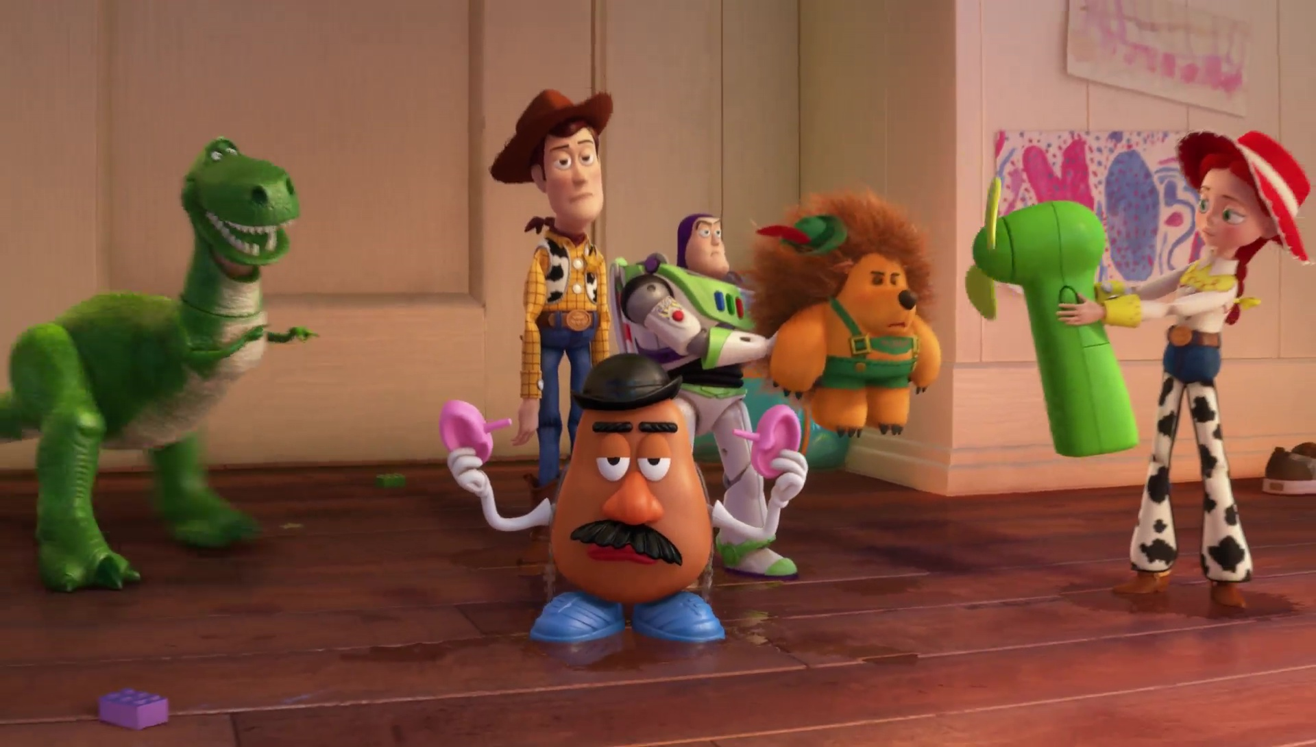 La brosse personnage dans toy story 3 pixar planet fr - Madame patate toy story ...