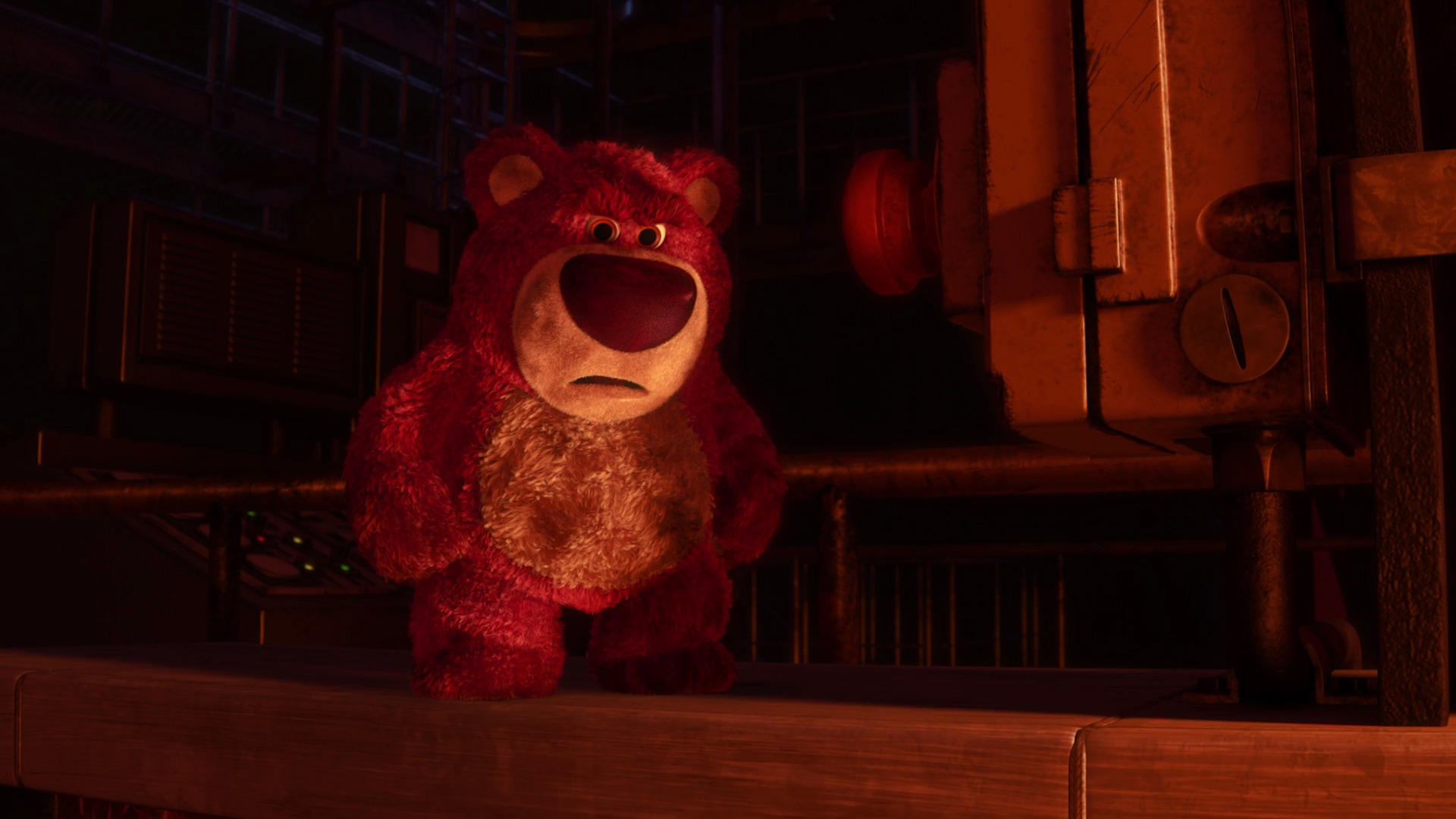 Lots O Huggin Bear Character From Toy Story 3