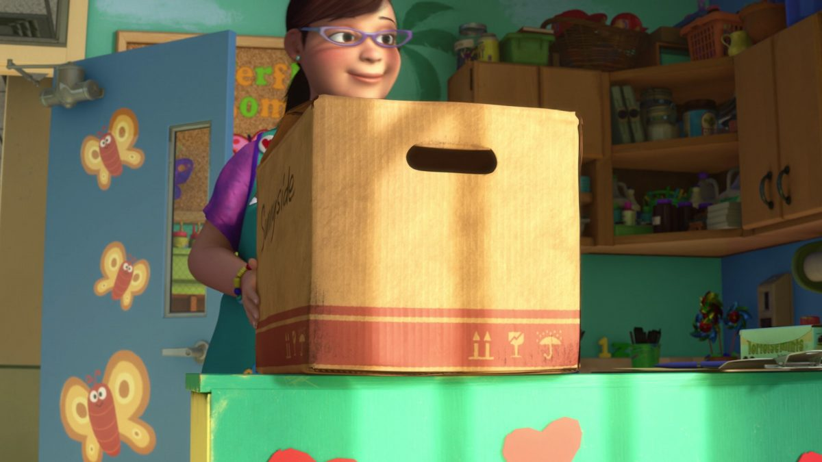 madame anderson personnage character toy story disney pixar