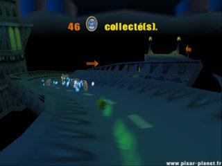 Monstres cie Ile épouvante  Disney Pixar Jeu vidéo game