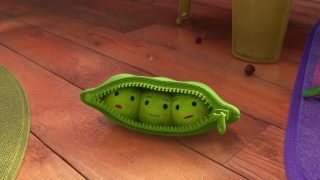 petits pois peas pod pixar disney personnage character toy story 3