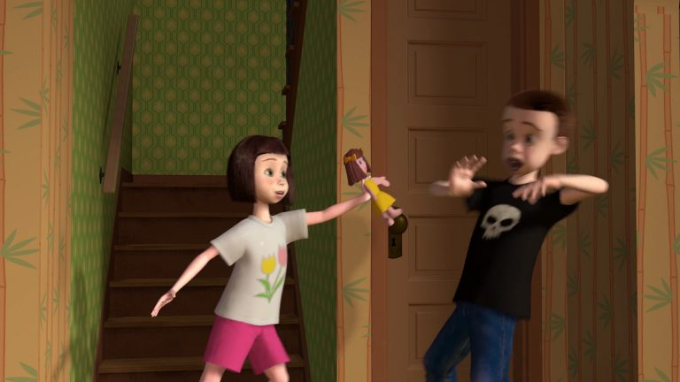 """Sally, personnage dans """"Toy Story""""."""