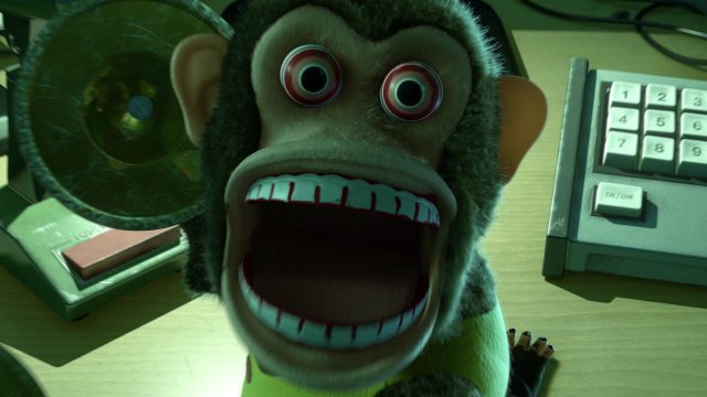 singe monkey personnage character disney pixar