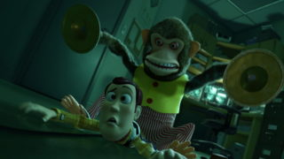 singe monkey pixar disney personnage character toy story 3