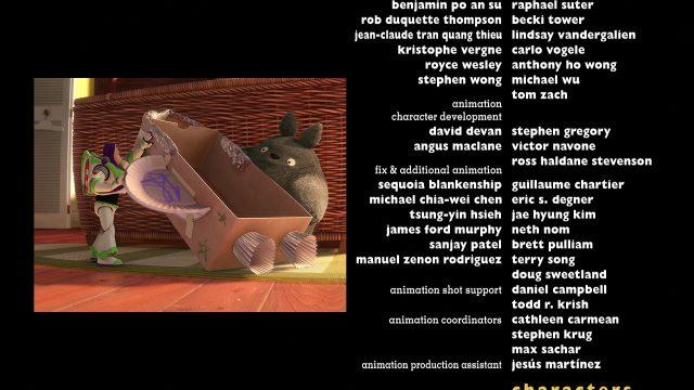 totoro personnage character disney pixar