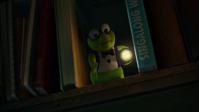 vermisseau bookworm personnage character disney pixar