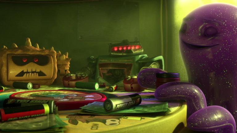 "Vulcain, personnage dans ""Toy Story 3""."