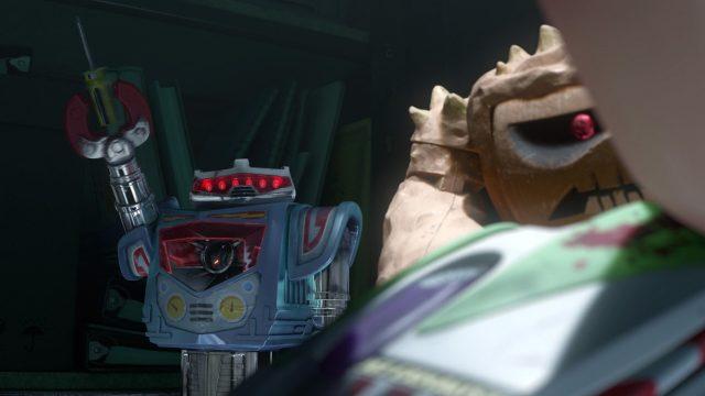 spark vulcain personnage character disney pixar