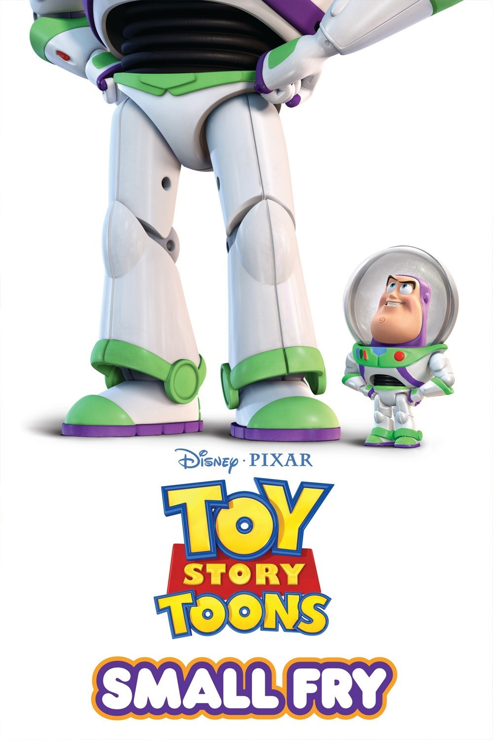 Pixar disney Toy Story Toons : mini buzz small fry affiche poster