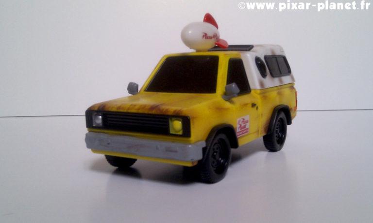 """Le jouet """"Camion Pizza Planet""""."""