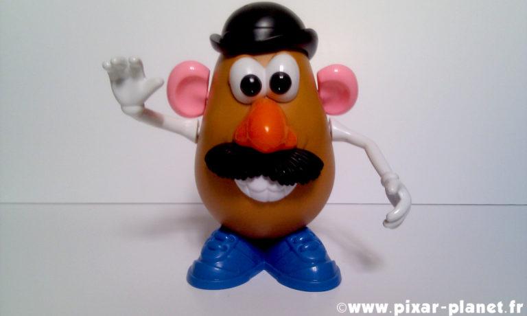 """Le jouet """"Monsieur Patate""""."""