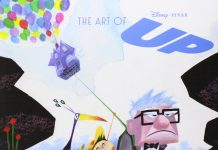 art of up Livre Disney Pixar Book